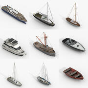 Pakiet jednostek pływających 3d model