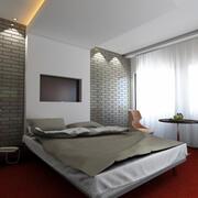 Otel odası 3d model