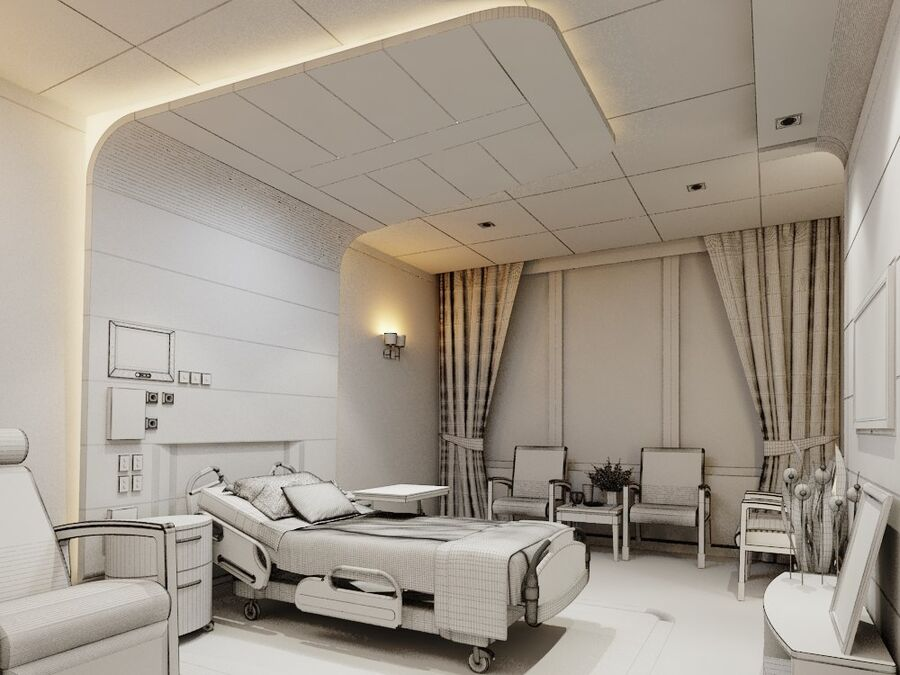 Patientrum (VIP) royalty-free 3d model - Preview no. 4
