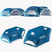 Tents Hexa inflatable Axion 3d model