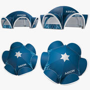Tents Spider inflatable Axion 3d model