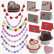 Colección de San Valentín modelo 3d
