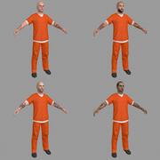 PACK dei prigionieri 3d model