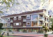 Apartamento con 12 condominios modelo 3d