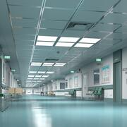 Ziekenhuis Hal 1 Modulair 3d model