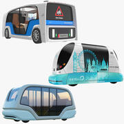 Electric Pods Collection 3d model