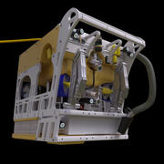 遠隔操作無人探査機 3d model