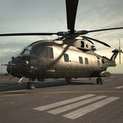 AgustaWestland AW101 Merlin 3d model