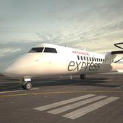 Bombardier Dash 8 3d model