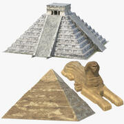 Ancient Temples Collection 3d model