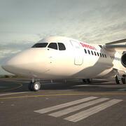 영국 항공 우주 146 3d model