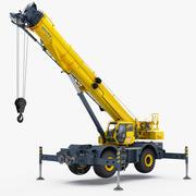 Manitowoc GRT8100 Кран повышенной проходимости, самонаводящийся 3d model