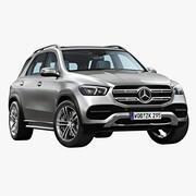 2020 Mercedes Benz GLE 3d model