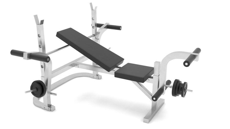 equipo de gimnasio royalty-free modelo 3d - Preview no. 1