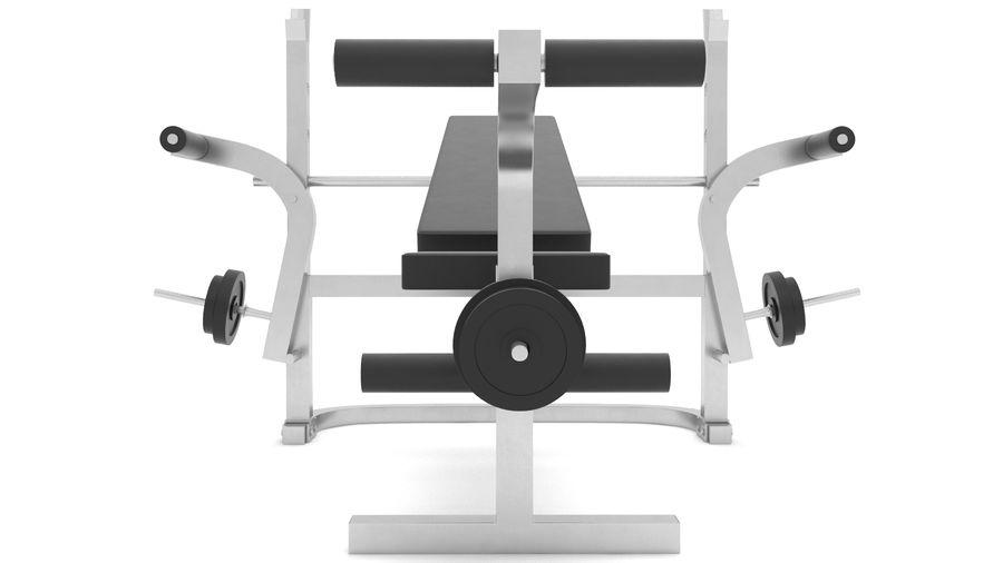 equipo de gimnasio royalty-free modelo 3d - Preview no. 6