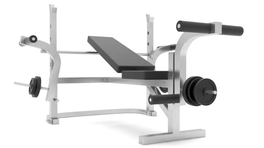 equipo de gimnasio royalty-free modelo 3d - Preview no. 3