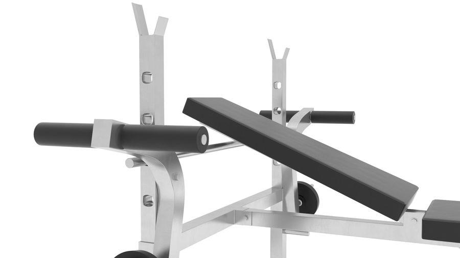 equipo de gimnasio royalty-free modelo 3d - Preview no. 4