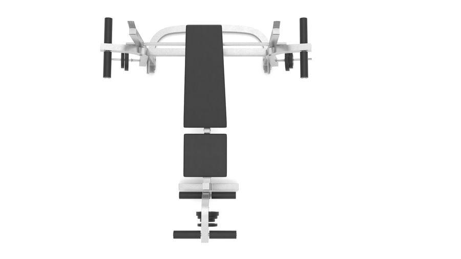 équipement de gym royalty-free 3d model - Preview no. 7