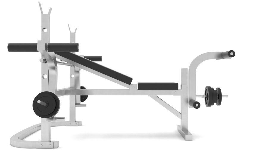 equipo de gimnasio royalty-free modelo 3d - Preview no. 5