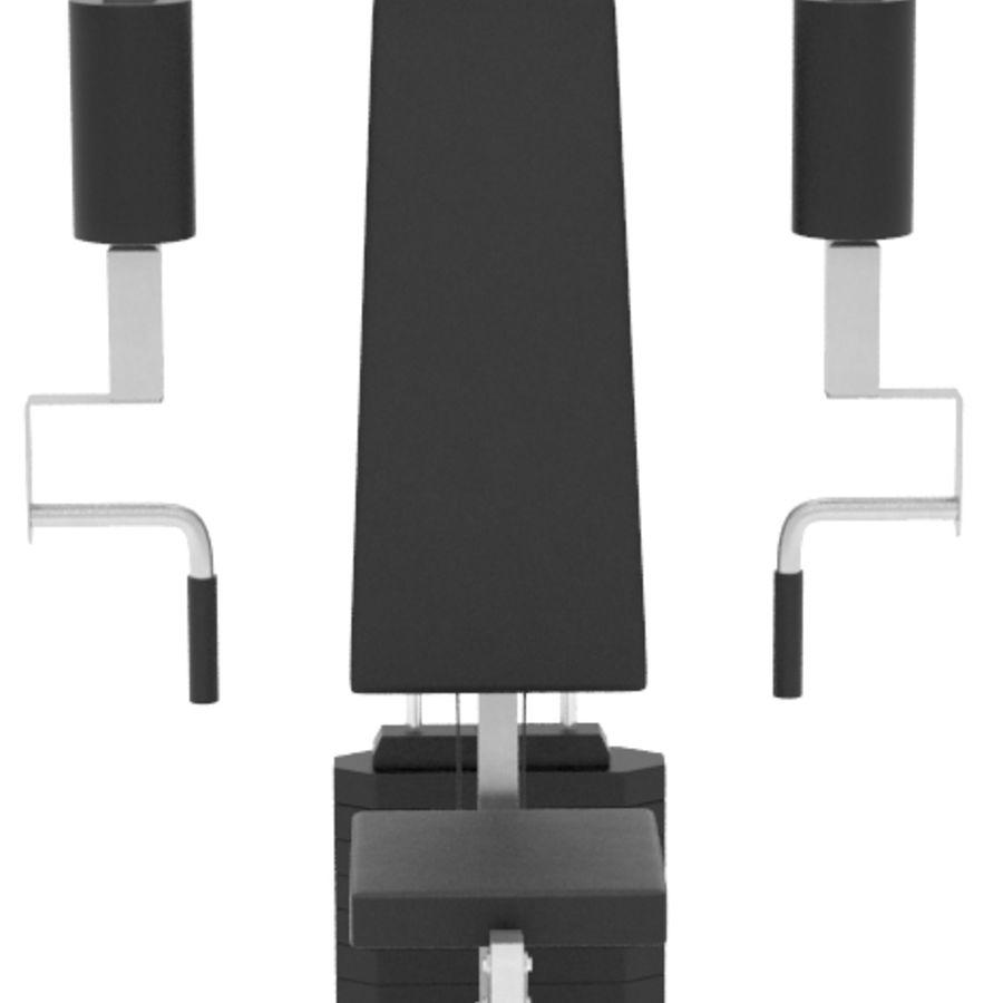 多功能体育馆 royalty-free 3d model - Preview no. 5