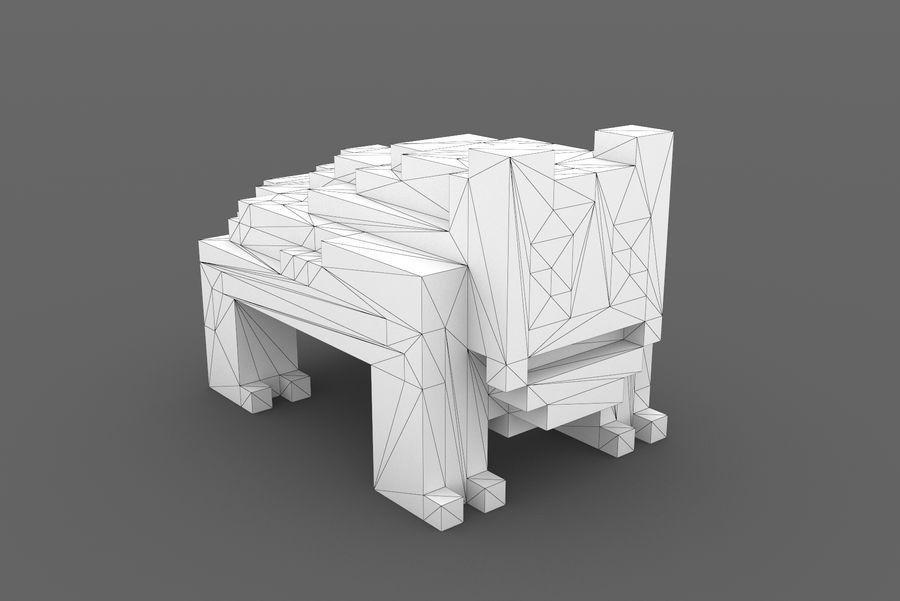 Creature 001 royalty-free 3d model - Preview no. 12