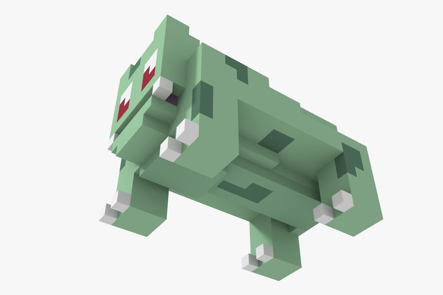 Creature 001 royalty-free 3d model - Preview no. 7
