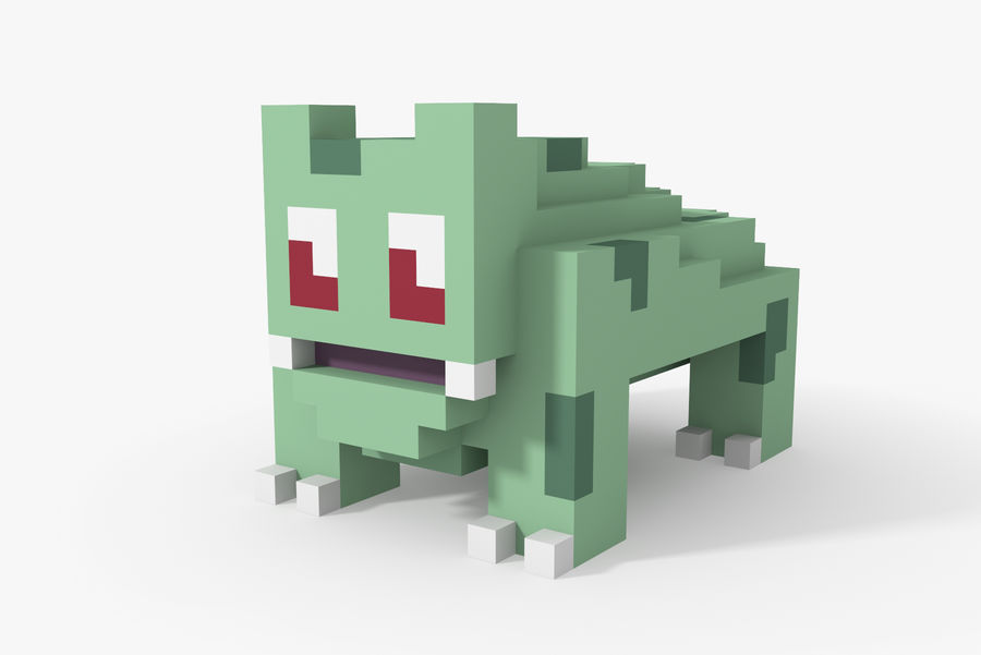 Creature 001 royalty-free 3d model - Preview no. 2