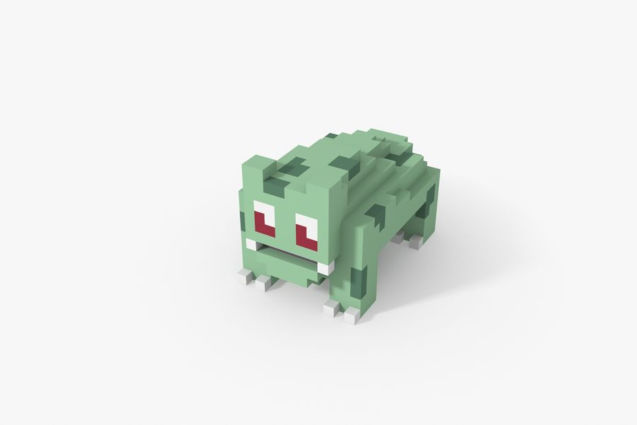 Creature 001 royalty-free 3d model - Preview no. 6