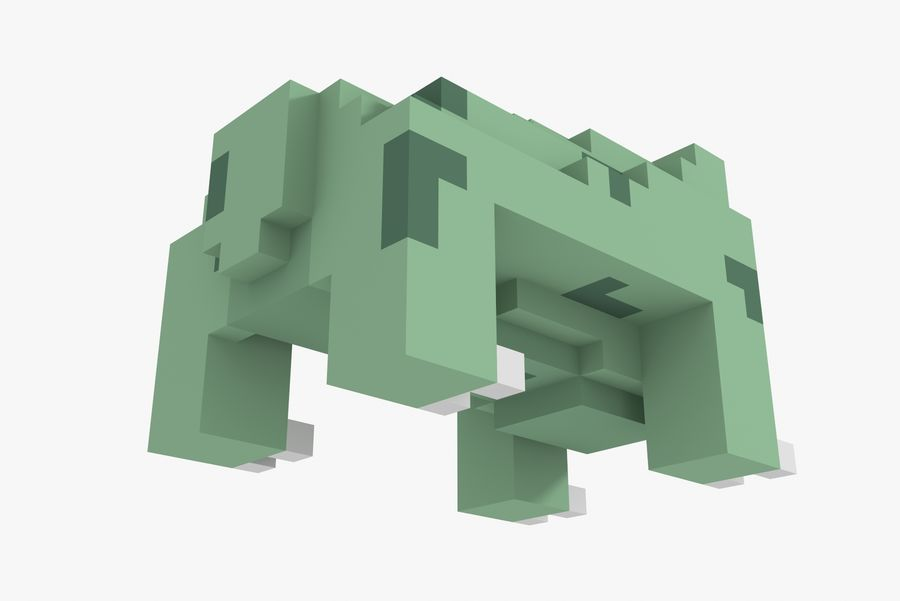 Creature 001 royalty-free 3d model - Preview no. 8