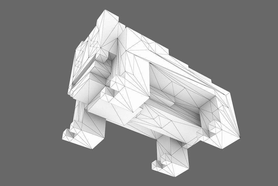 Creature 001 royalty-free 3d model - Preview no. 14