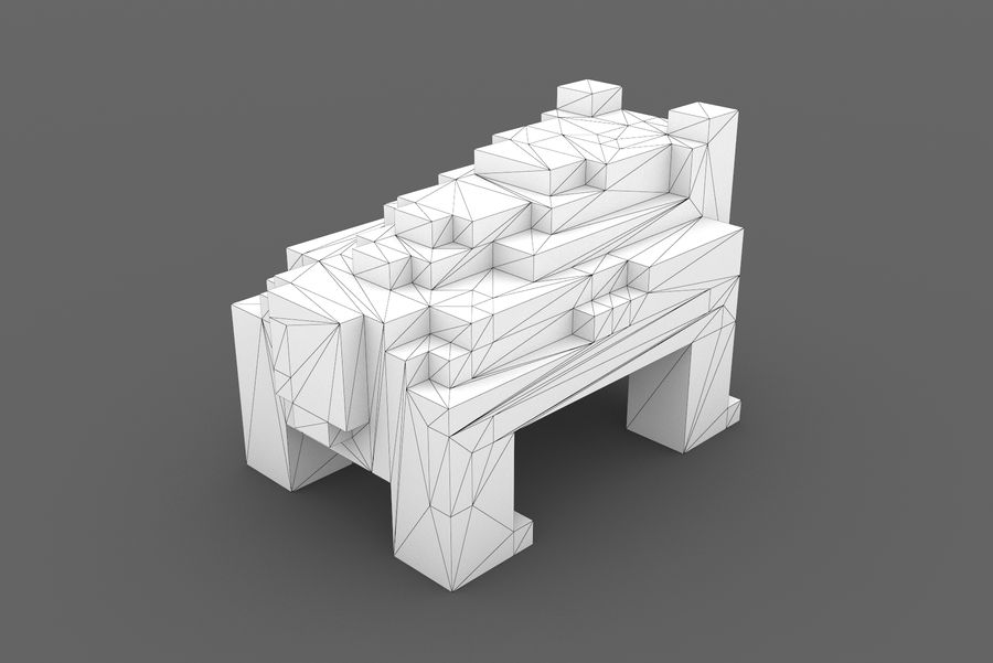 Creature 001 royalty-free 3d model - Preview no. 11
