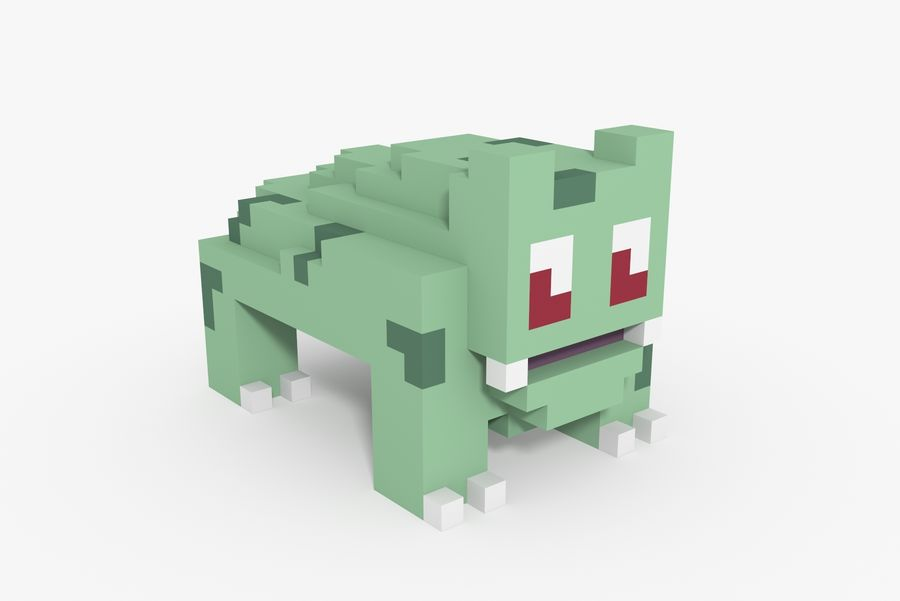 Creature 001 royalty-free 3d model - Preview no. 5