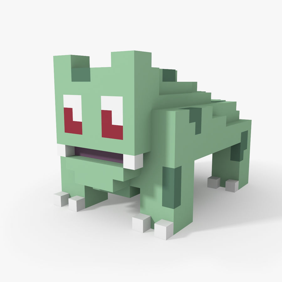Creature 001 royalty-free 3d model - Preview no. 1