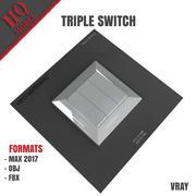 TRIPLE SWITCH 3d model