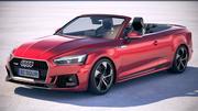 Audi RS5 Cabriolet 2019 3d model