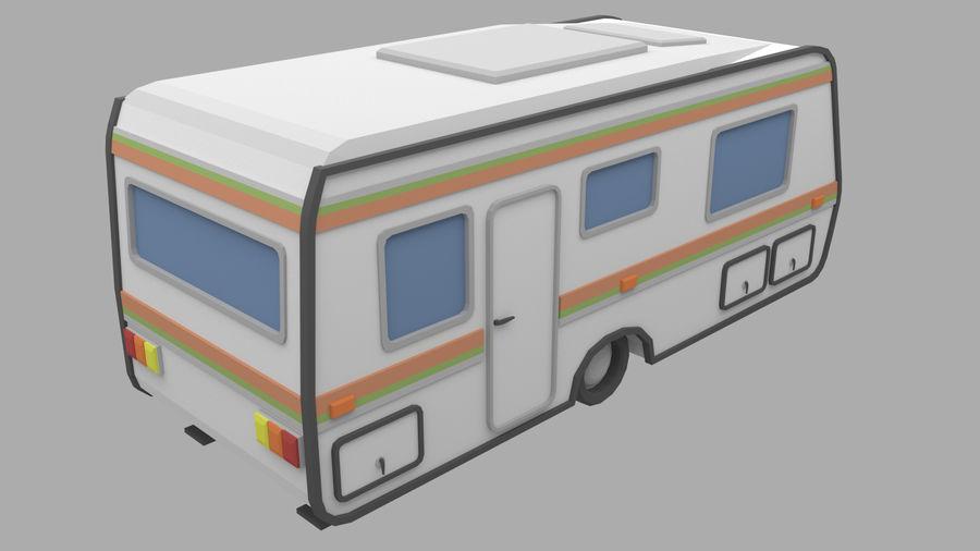 caravan royalty-free 3d model - Preview no. 3
