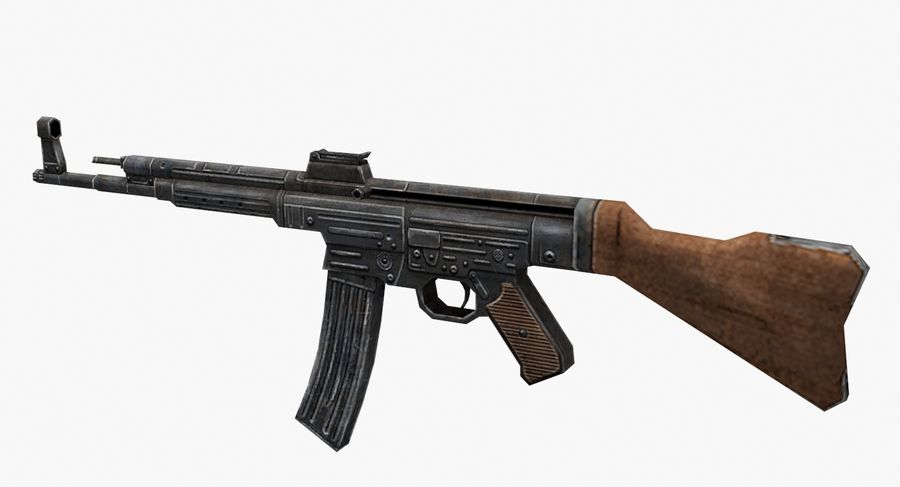 StG 44 royalty-free 3d model - Preview no. 6