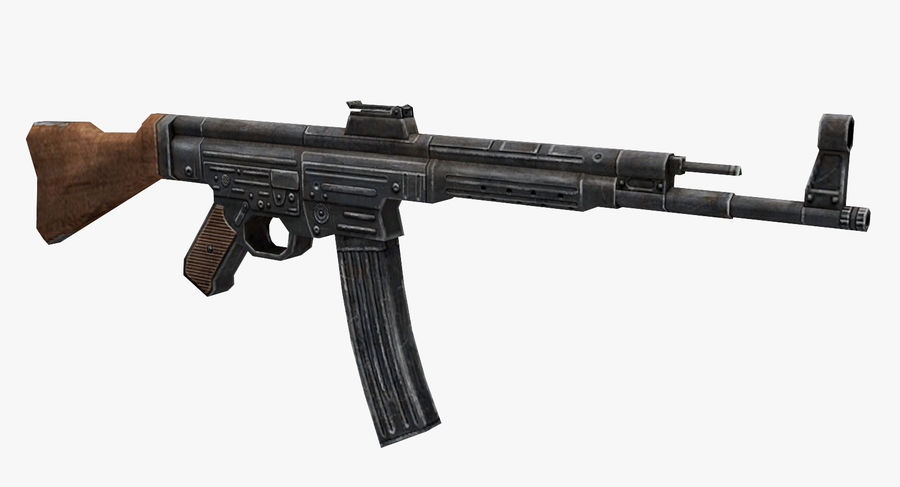 StG 44 royalty-free 3d model - Preview no. 2