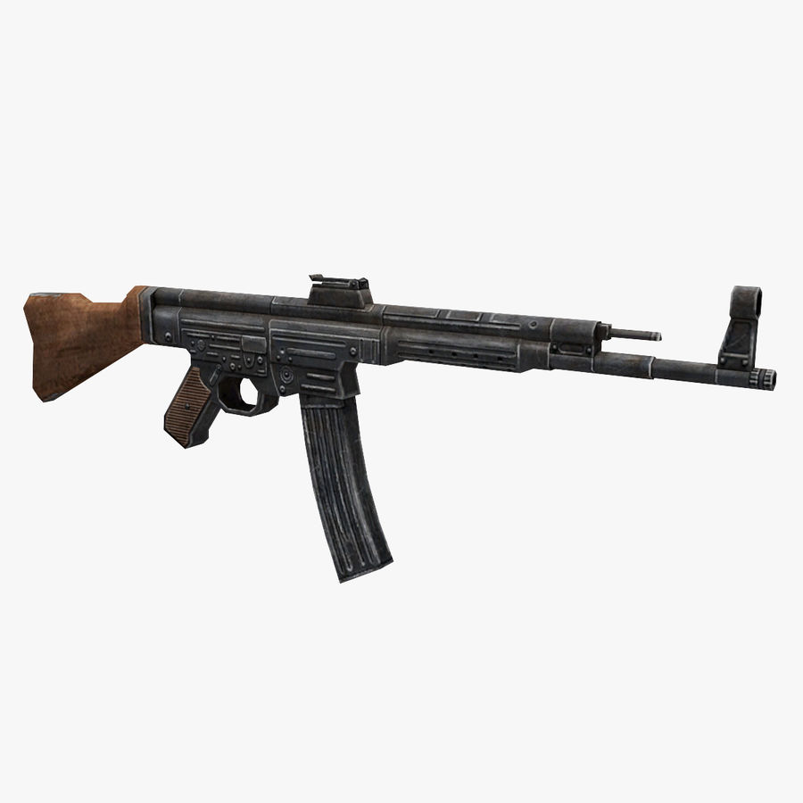 StG 44 royalty-free 3d model - Preview no. 1