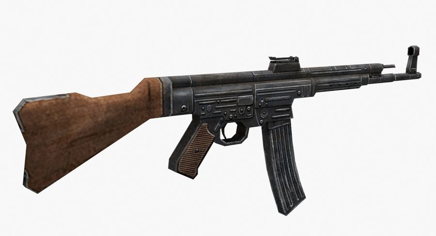 StG 44 royalty-free 3d model - Preview no. 3