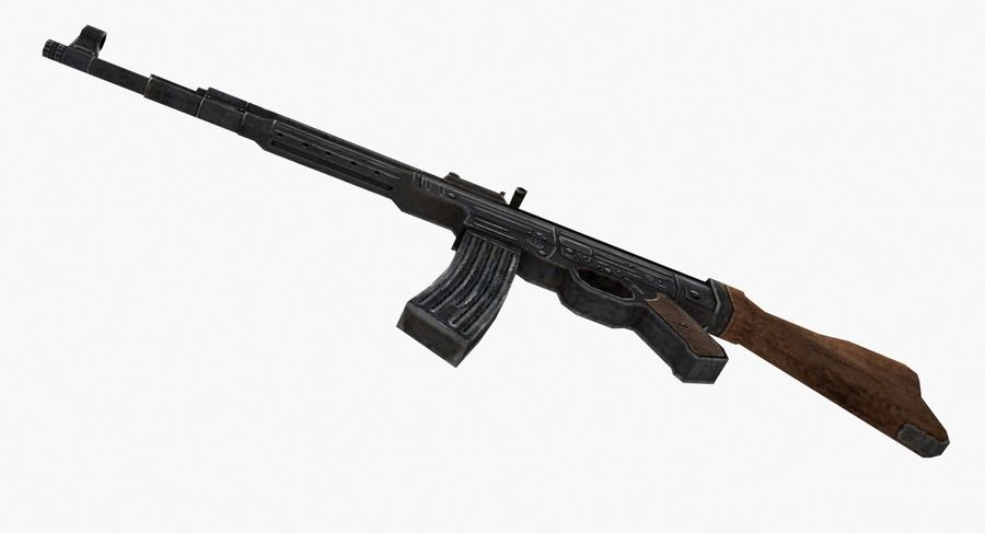 StG 44 royalty-free 3d model - Preview no. 5