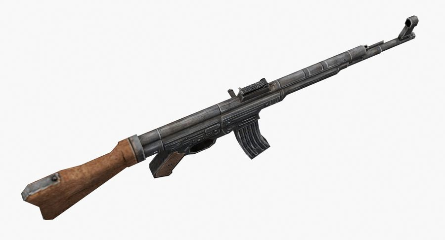 StG 44 royalty-free 3d model - Preview no. 4