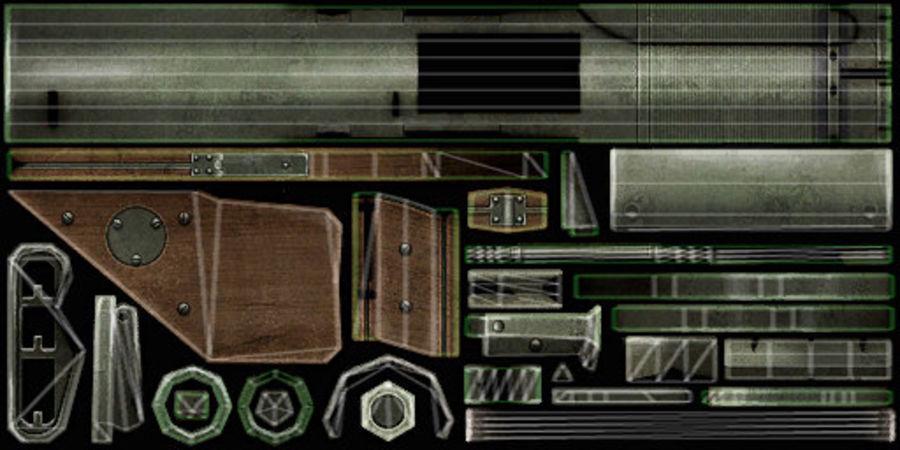 Bazooka royalty-free 3d model - Preview no. 14