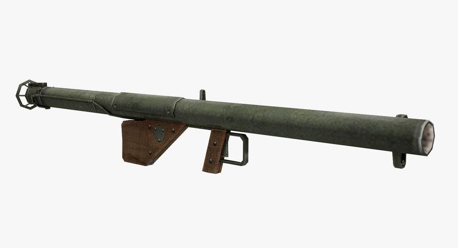 Bazooka royalty-free 3d model - Preview no. 2