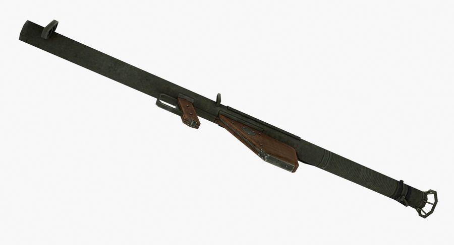 Bazooka royalty-free 3d model - Preview no. 5