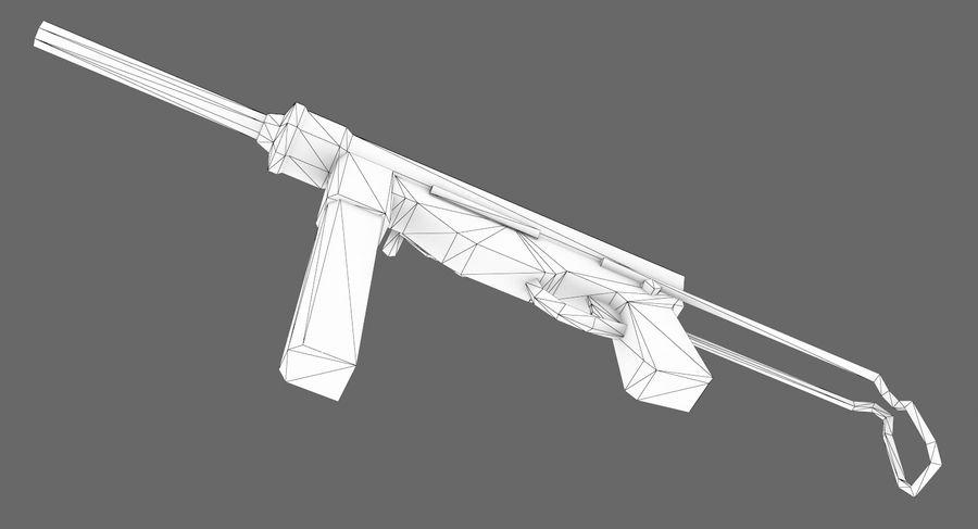 M3A1 royalty-free 3d model - Preview no. 10