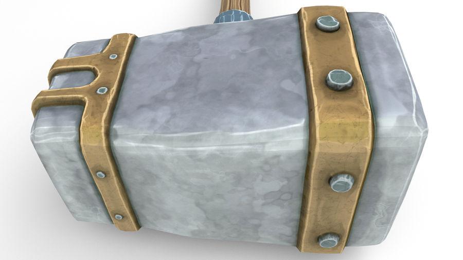 远古之锤 royalty-free 3d model - Preview no. 46
