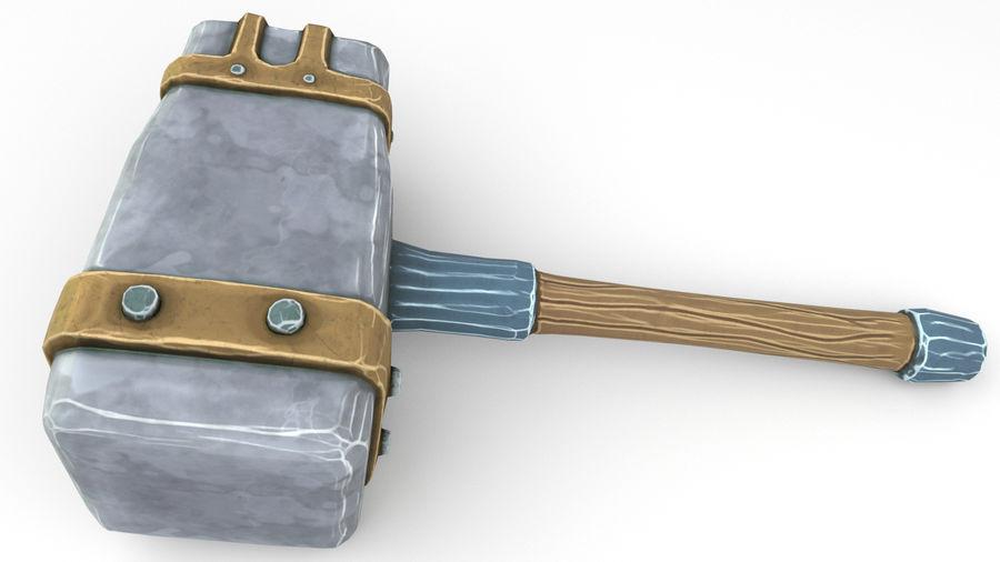 远古之锤 royalty-free 3d model - Preview no. 36