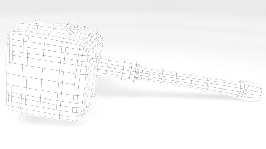 远古之锤 royalty-free 3d model - Preview no. 33