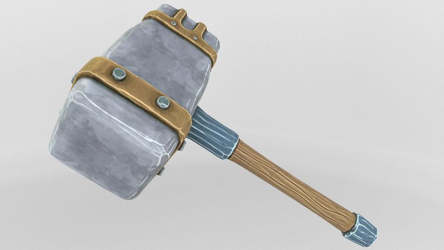 远古之锤 royalty-free 3d model - Preview no. 2